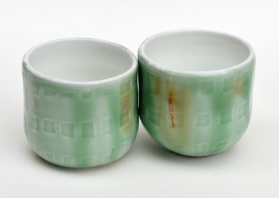 GREEN CUPS